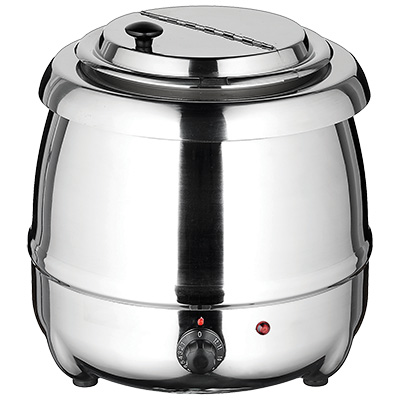 Winco ESW-70 Soup Warmer Set 10 qt. Capacity, Stainless Steel
