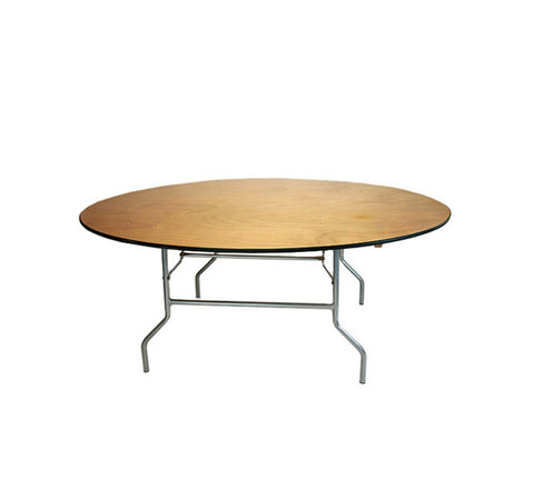 DHC EW-R Plywood Banquet Tables, Round