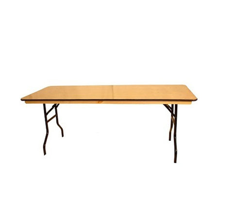 DHC EW-S Plywood Banquet Tables, Rectangle