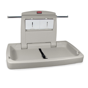 "Rubbermaid FG781888LPLAT Sturdy Station 2™ Changing Station, 35-7/8""L x 28-1/4""W x 19-1/2""H, platinum , Made in USA"