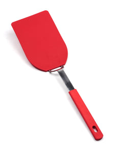 RSVP-International  FLX-3R Flexible Nylon Spatula – Large Red