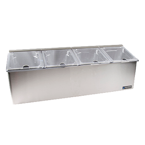 "San Jamar FP8245NL EZ-Chill™ Self-Service Center, 27-1/4""L x 10-1/4""W x 11""H"