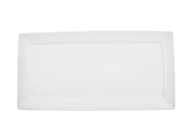 "CAC China F-RP10 Paris-French Platter, 10""L x 5""W x 1/2""H, rectangular, 2dz Per Case"