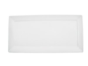 "CAC China F-RP10 Paris-French Platter, 10""L x 5""W x 1/2""H, rectangular"