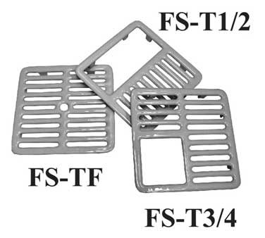 "GSW USA FS-TF Top Grate, full size, 9-3/8"" x 9-3/8"""