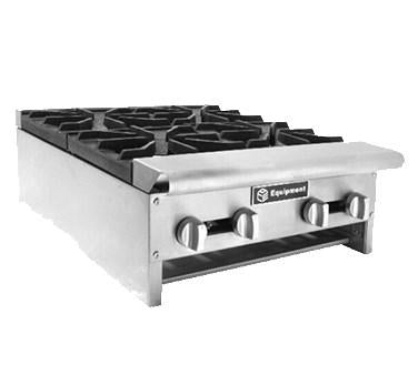 "AEHP60 10 Burners Counter Gas Hot Plate, ETL 60""W x 30""D x 10""H"