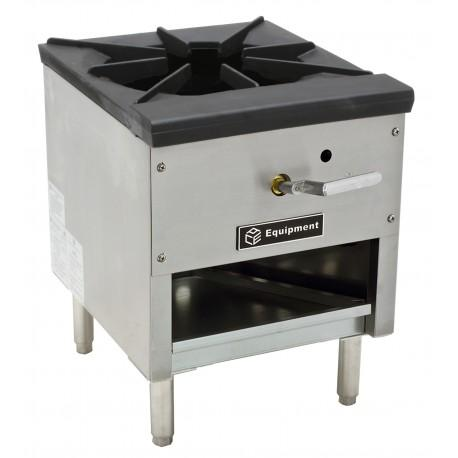 "GSW USA AESP2-3R18LP 3 Ring Stock Pot Range, Double Burner, LP, 18""H, 180,000BTU/Hr, ETL"