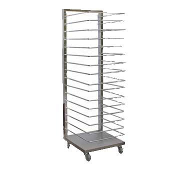 GSW USA DN-RA16 All Welded Stainless Steel Pan Tree Rack, ETL