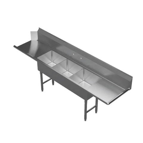 "GSW USA DT18243D-R Soiled Dishtable, Right-to-Left Operation, 102-1/4""W x 30""D x 45-1/2""H"