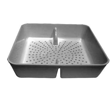 "GSW USA FS-PB Floor Sink Basket 8-1/2"" x 8-1/2"" Plastic"