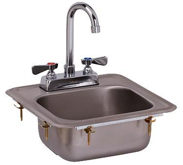 GSW USA HS-0810IG Mini Drop-In Hand Sink, ETL
