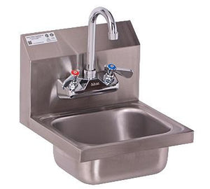 GSW USA HS-0810WG Ultra Space Saver Wall Mount Hand Sink