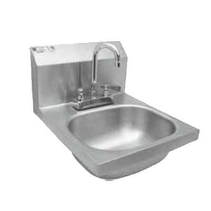 GSW USA HS-1416DG Hand Sink with Deck Mount Faucet