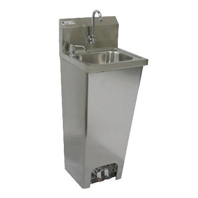 GSW USA HS-1615FG Hand Sink with Foot Operated Value, ETL