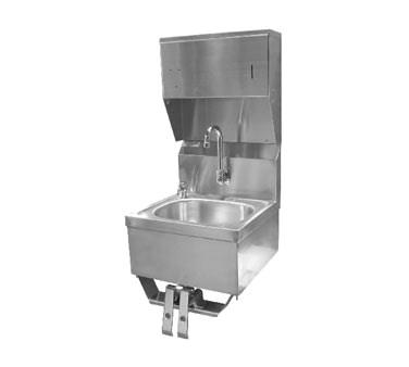 GSW USA HS-1615KCG Hand Sink with Knee Operated Valve (with Towel Dispenser), ETL