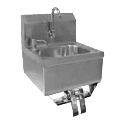 GSW USA HS-1615KG Hand Sink with Knee Operated Valve, ETL