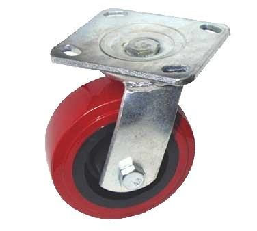 "GSW USA KP6011 Industrial Caster Non-Brake, 5"" Dia., 4 X 4-1/2"""