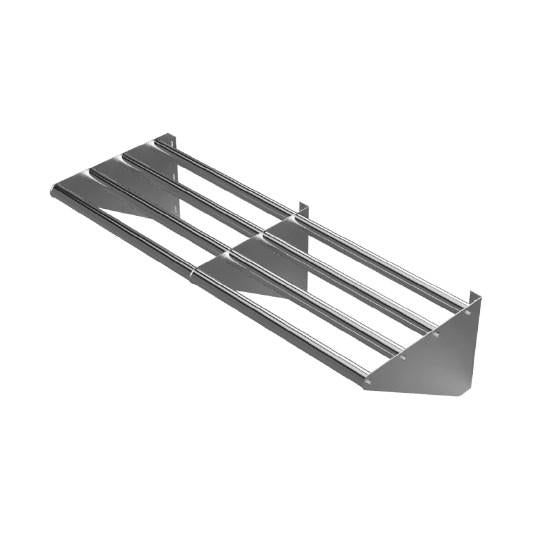 "GSW USA WS-WD1672 Tubular Wall Mounted Drainage Shelf, 72""W"