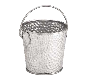 "TableCraft Products GT33 Galvanized Collection™ Pail - 9 oz., 3"" dia., Galvanized Steel"