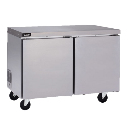 Delfield GUR60P-S Coolscapes™ Undercounter/Worktable Refrigerator, (2) Stainless Steel Doors, 115v