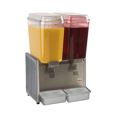 Grindmaster-Cecilware D25-3 Crathco® Classic Bubbler™ Pre-Mix Cold Beverage Dispenser, double, electric, (2) 5 gallon, R134a, 1/5 HP, cULus, NSF