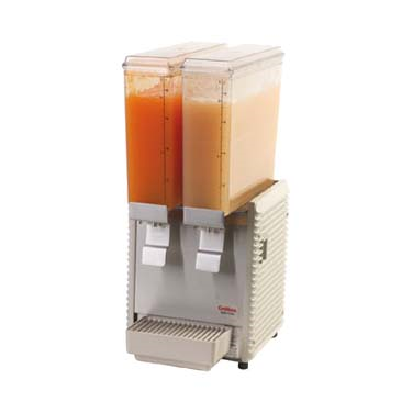 "Grindmaster-Cecilware E29-4 Mini Pre-Mix Cold Beverage ""Double"" Dispenser - 2.4 Gal. Cap."
