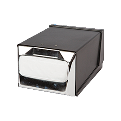 "San Jamar H3001BKC Countertop Napkin Dispenser, one-at-a-time, 7-5/8""L x 11""W x 5-1/2""H,"