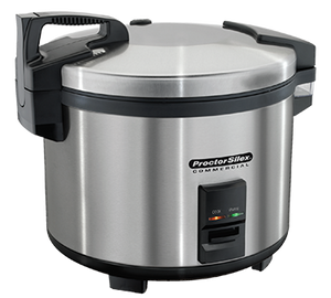 Hamilton Beach 37560R Proctor-Silex® Commercial Rice Cooker/Warmer, 60 cups