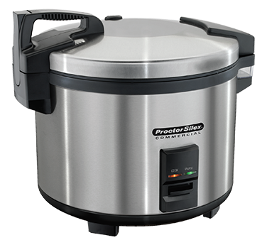 Hamilton Beach 37560R Proctor-Silex® Commercial Rice Cooker/Warmer, 60 cup cooked (14 liter) capacity, double wall insulated, stainless steel, 120v/60/1-ph, 1550 watts, cETLus, CE, ANSI, RoHS, NSF