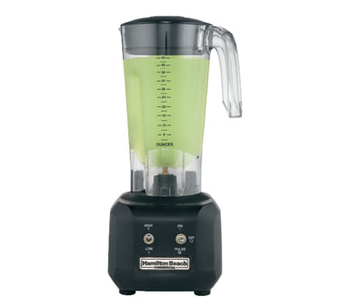 Hamilton Beach HBB250R Rio Bar Blender, two speed motor, 44 oz., 3/4 HP, 120v/60/1-ph, cULus, NSF listed