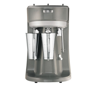 Hamilton Beach HMD400 Drink Mixer, (3) spindles, for soda fountain and bar use, (3) motors, (3)1/3 HP, 120v/60/1-ph, 900 watts, cULus, NSF