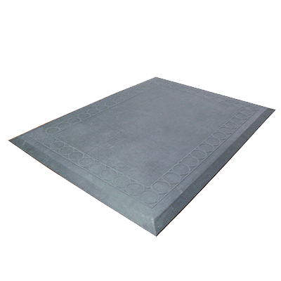 "Axia CRT2736SB Anti-fatigue Floor Mat, 27"" x 36"", single section, general purpose, rubber, black, NFSI certified"