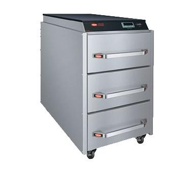 Hatco CDW-3N Freestanding 3-Drawer Warmer with Programmable Digital Controller