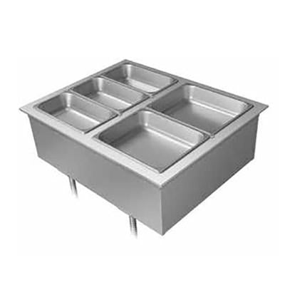 Hatco DHWBI-6 Drop-In Modular Heated Dry Well, (6) Full Size Pan Capacity - 120/208-240V