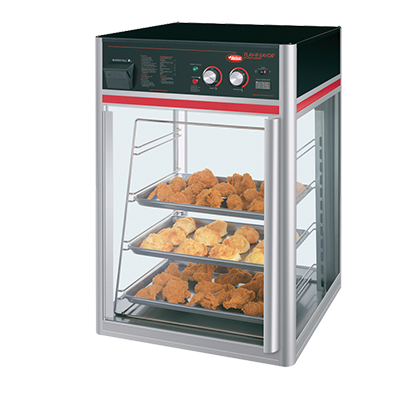 Hatco FSDT1X Flav-R-Savor® holding & display cabinet, (1) door, (4) tier pan rack without motor, 1440w, cULus, UL EPH Classified, ANSI/NSF 4, Made in USA