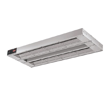 "Hatco GRAH36D3 Glo-Ray® Infrared Foodwarmer, high wattage, tubular metal heater rod, double heater rod housing 3"" spacing, aluminum construction, 1600 watts, NSF, cUL, UL"
