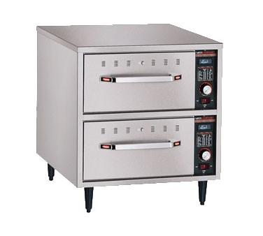 Hatco HDW-2N Freestanding Narrow Warming 2 Drawer Unit For Standard Pans, 208V