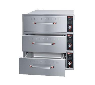 Hatco HDW-3BN Built-In Narrow Warming 3 Drawer Unit For Standard Pans, 120V
