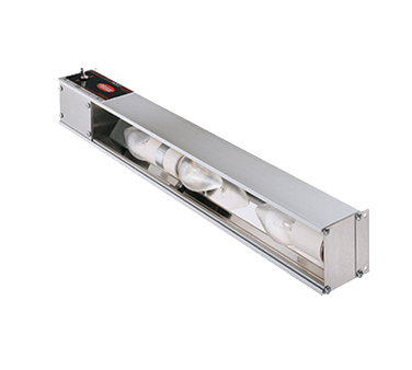 "Hatco HL60 Glo-Rite® Display Light, strip type with aluminum housing & toggle switch, 60"" long, NSF, UL, UL EPH Classified, ANSI/NSF 4, CSA, Made in USA"