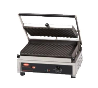 Hatco MCG14G Multi Contact Panini Sandwich Grill with Grooved Cast Iron Plates - 120V, 1800W