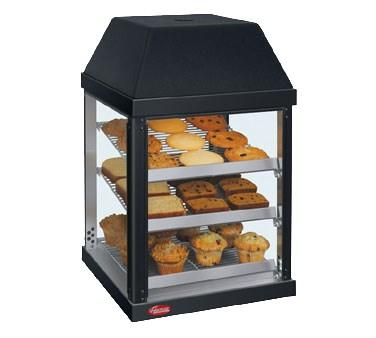 Hatco MDW-1X One-Door Mini Display Warmer with Three Shelves - 470W