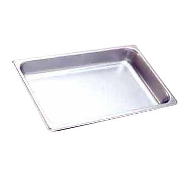 "Hatco ST PAN 4 Equivalent 4"" Full Size Stainless Steel Food Pan"