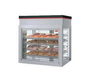Hatco WFST-2X Flav-R-Savor Humidified Four-Door Large Capacity Merchandising Cabinet - 1790W