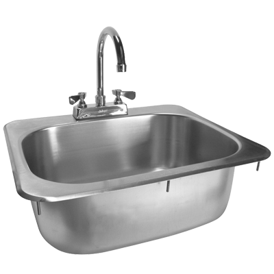 GSW USA HS-1317I Drop-In Hand Sink (One-Compartment)