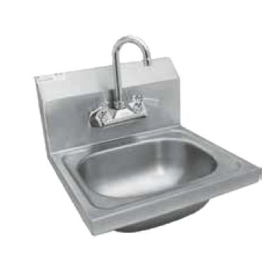 "GSW HS-1615WG Hand Sink, wall mount, 12-1/2""W x 9-3/4"" front-to-back x 5-5/8"" deep bow"
