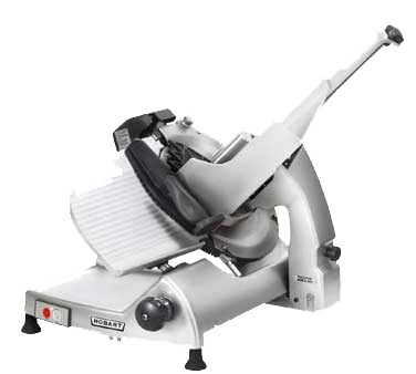 "Hobart HS6-1 Heavy Duty Meat Slicer, manual, 13"" CleanCut™ removable knife with removal tool, burnished finish, 1/2 hp motor, 5.4amps, 120v/60hz/1-ph, NSF cETLus"