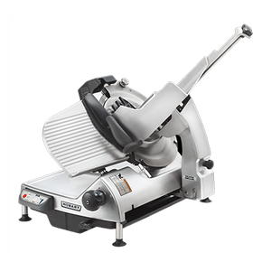 "Hobart HS7-1 Heavy Duty Meat Slicer, automatic, 13"" CleanCut™ removable knife with removal tool, burnished finish,1/2 hp motor, 5.6amps, 120v/60hz/1-ph, NSF cETLus"