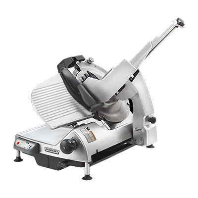 "Hobart HS9-1 Heavy Duty Meat Slicer, automatic, 13"" CleanCut™ removable knife with removal tool, anodized finish, 1/2 hp motor, 120v/60hz/1-ph NSF cETLus"