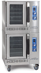 Imperial HSICVE-2 Convection Oven, electric, half size, (2) deck, (2) speed fan motor, 1/2 HP per oven, CE