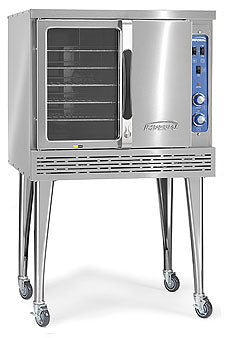 Imperial ICVDE-1 Convection Oven, electric, (1) deck, bakery depth, (2) speed fan motor, CE